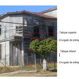 Fachada principal Casona Eyheramendy, esquina