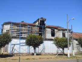 Revestimiento de protección de fachadas.