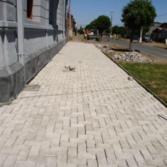 Detalle pavimento exterior