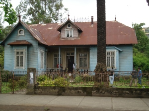 Fachada Casa Lienlaf, Temuco