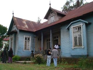 Fachada Casa, vista desde antejardín
