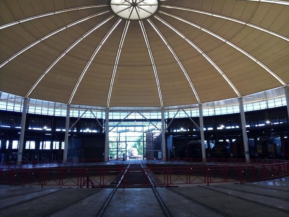 Casa de Máquinas, Temuco, espacio central interior